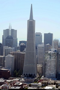 Photo by airtrainer | San Francisco  transamerica pyramid